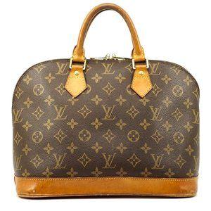 Auth Louis Vuitton Alma Handbag #2060L14